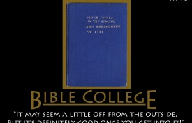 Choosing A Bible College