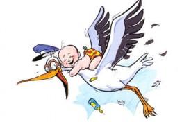 The Stork is Halfway Here!